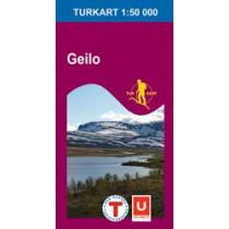 Turkart 2515 Geilo 1:50.000
