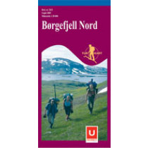 Turkart 2621 Børgefjell Nord 1:50.000