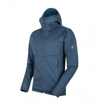 Mammut Ultimate V So Hooded Jacket Men's Jay-Jay Melange