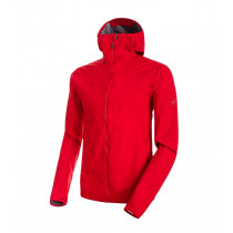 Mammut Ultimate V Light So Hooded Jacket Men's Magma