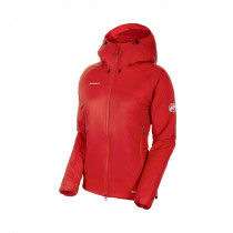 Mammut Rime In Flex Hooded Jacket Women Magma