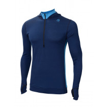 Aclima Lightwool Hoodie Man Insignia Blue/Blithe