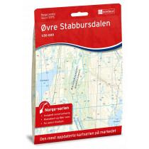 Nordeca Øvre Stabbursdalen Norge-Serien 1:50 000