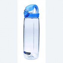 Nalgene Otf Clear Seaport Blue White Cap