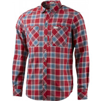 Lundhags Jaksa LS Shirt Red