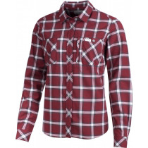 Lundhags Jaksa LS Women's Shirt Dark Red