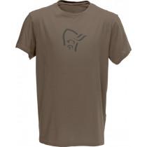 Norrøna /29 Cotton Logo T- Shirt (M) Bungee Cord