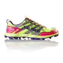 Salming Elements Shoe Women Safety yellow/Pinkglow