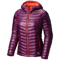 1040b01c Mountain Hardwear Women's Ghost Whisperer™ Hooded Down Jacket Cosmos Purple  Dame S M L Størrelser