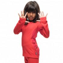 Houdini Kids Alpha Crew Fourties Red