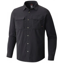 Mountain Hardwear Men's Canyon Pro Long Sleeve Shirt Stealth Grey