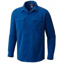 Mountain Hardwear Men's Canyon Pro Long Sleeve Shirt Nightfall Blue