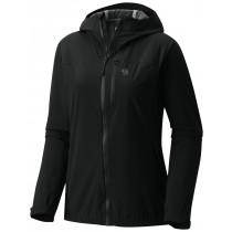 Mountain Hardwear Women's Stretch Ozonic Jacket Black Skalljakke