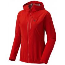 Mountain Hardwear Women's Stretch Ozonic Jacket Fiery Red Skalljakke