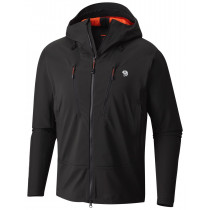 Mountain Hardwear Men's Touren Hooded Jacket Stealth Grey