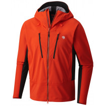 Mountain Hardwear Men's Touren Hooded Jacket State Orange