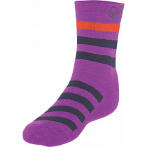 Norrøna Falketind Mid Weight Merino Socks Royal Lush
