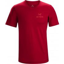 Arc'teryx Emblem SS T-Shirt Men's Red Beach