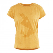 Klättermusen Eir Forest S/S Tee Women's Honey