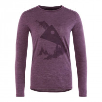 Klättermusen Eir Forest L/S Tee Women's Night Orchid