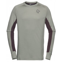 Norrøna Fjørå Powerwool Long Sleeve Men's Castor Grey