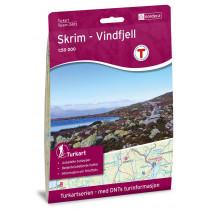 Nordeca Skrim Vindfjell 1:50 000 Turkart