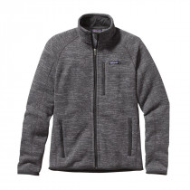 Patagonia M's Better Sweater Jkt Nickel W/Forge Grey
