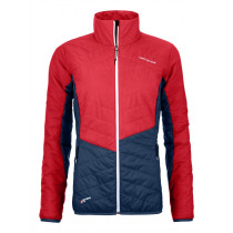 Ortovox Swisswool Dufour Jacket Women's Hot Coral