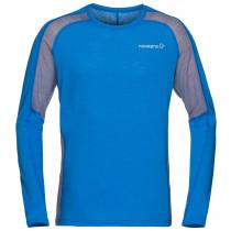 Norrøna Bitihorn Wool Shirt Men's Hot Sapphire