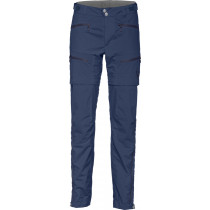 Norrøna Bitihorn Zip Off Pants Women's Indigo Night