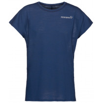 Norrøna Bitihorn Wool T-Shirt Women's Indigo Night