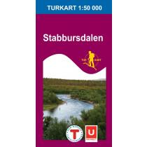 Nordeca Stabbursdalen 1:50 000 Turkart