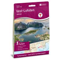 Nordeca Vest-Lofoten 1:50 000 Turkart