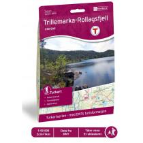 Nordeca Trillemarka-Rollagsfjell 1:50 000 Turkart