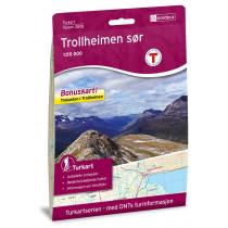 Nordeca Trollheimen Sør 1:50 000 Turkart
