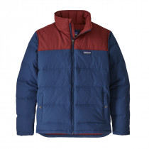 Patagonia Men's Bivy Down Jacket Stone Blue