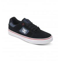 DC Men's Bridge Shoes Black/Black/Red