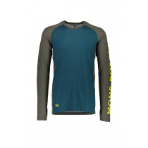 Mons Royale Temple Tech LS Geo Olive/Pacific