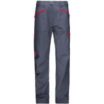 Norrøna Falketind Flex1 Pants Men's Cool Black/Crimson Kick