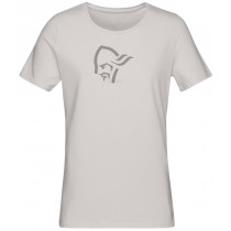 Norrøna /29 Cotton Logo T-Shirt Women's Drizzle