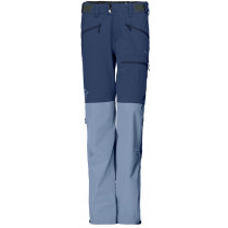 Norrøna Falketind Windstopper Hybrid Pants Women's Indigo Night /Bedrock