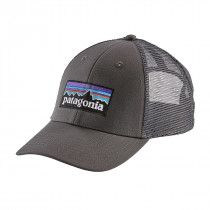 Patagonia P-6 Logo Lopro Trucker Hat Forge Grey W/Forge Grey