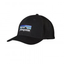 Patagonia P6 Trucker Hat Black