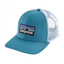 Patagonia P-6 Logo Trucker Hat Lumi Blue
