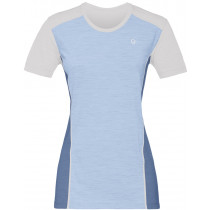 Norrøna Wool T-Shirt Women's Snowdrop/Denimite