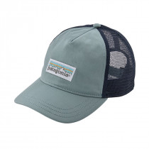 Patagonia Women Pastel P-6 Label Layback Trucker Cadet Blue