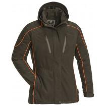 Pinewood Reswick Jacket Women Mockabrun/Orange