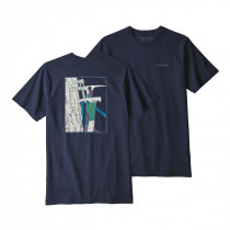 Patagonia M Og Ice Tools Responsibili-Tee Classic Navy