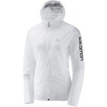 Salomon Lightning Wind Hoodie W White