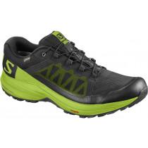 Salomon Shoes Xa Elevate Gtx Black/Lime Green/Black Løpesko